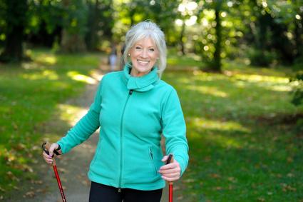 Walking eignet sich bestens, um auch geistig fit zu bleiben. © Volker Witt - Fotolia.com