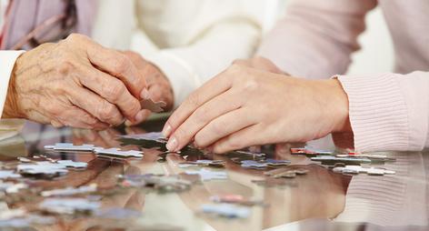 Seniorenspiele gegen Demenz: eine Auswahl
