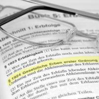 Formulierungshilfe: den Erben den Pflichtteil entziehen