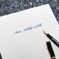 Gültigkeitsdauer eines Testaments – Unterschied zwischen Not- und normalem Testament